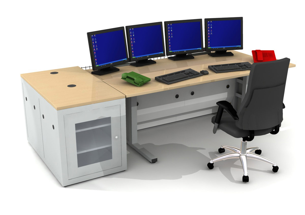 Ideas Design Gallery Multi-screen desk