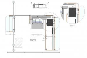 St. Pancras HS1 Gate Line Desk