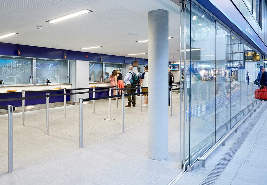 ideas network rail design guidelines customer counters pay windows